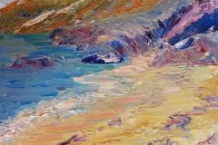Cornish Clifftops by Heatherbell Barlow