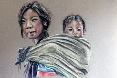 Artist Sue Miles