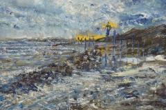 Coastal Landscape by Virginia Holmes