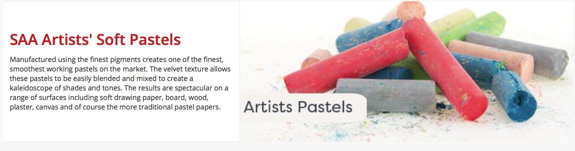 Tiverton Art Society - SAA Soft Pastels