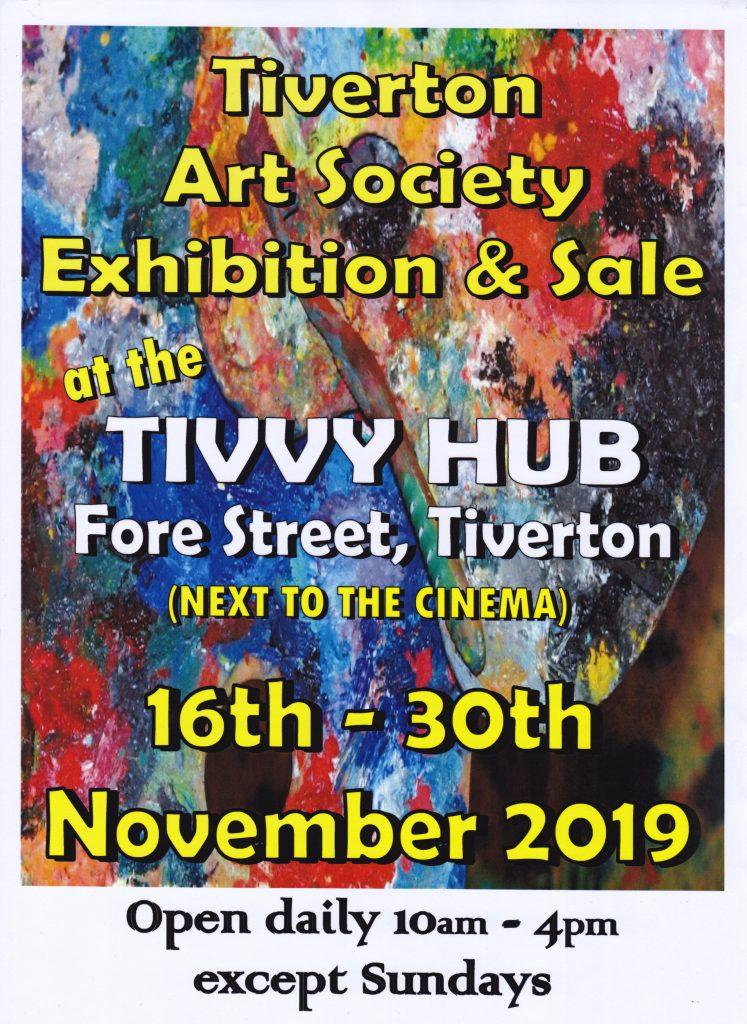 Tivvy Hub exhibition Nov 2019