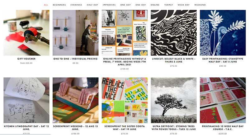 Double Elephant Print Workhops